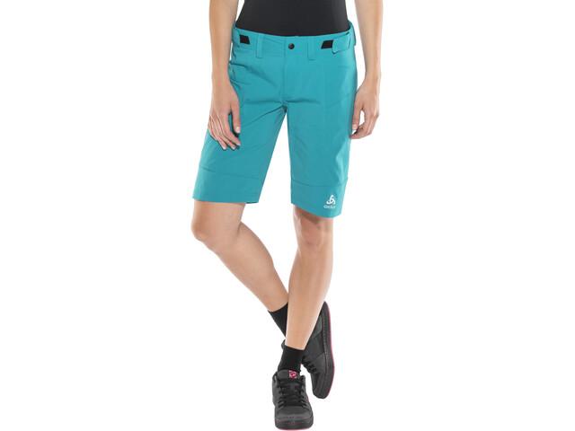 Odlo Morzine Cykelbukser Damer turkis | Trousers